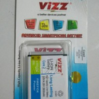 Galaxy Core 2 Battery Vizz 2800mAh Samsung Baterai Double Power 2800