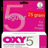 oxy 5 oxy5 anti pimple for mild acne obat jerawat 25 g