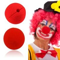 Hidung Badut Warna Merah Mainan Kostum Pesta