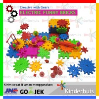 Electric Funny Bricks: Creative with Gears