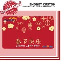 kartu emoney custom gong xi fa cai