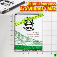 Baterai Evercoss A75 Winner Y Max Rakkipanda