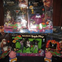 Space Jam Action Figures - Set 5 ( Include Jordan Box Set )