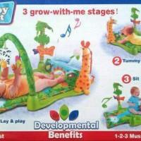 Jual Mainan Bayi Playmat Musical Playgym Baby Gift Rainfores Murah Murah