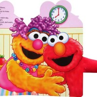 harga Sesame Street Elmo Loves Hugs! Board Book with Plush Huggable Arm Tokopedia.com
