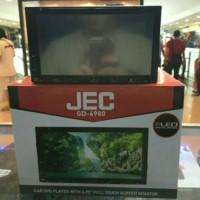 tv mobil/dvd double din merk jec layar 6.95 inch