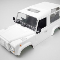 Rc Car Adventure Hard Body Land Rover Defender D90 Axial Scx10 Rc4wd