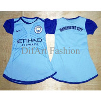 Harga best seller manchester city home dress baju bola bayi jersey anak | antitipu.com