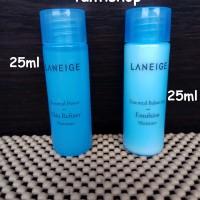 laneige skin refiner moisture 25ml + laneige emulsion moisure 25ml