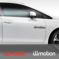 Cutting Sticker Mobil JDM illmotion Stiker Body Kaca 30 cm
