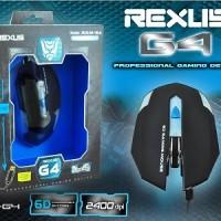 Rexus Mouse Gaming G4 Murah Terbaik u/ Warnet Game