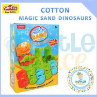 Fun Doh Cotton Magic Sand Dinosaurs-Pasir Kinetik