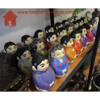 Celengan pengantin batik - Jawa