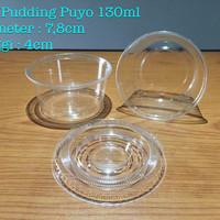 Jual Cup Pudding Puyo / Cup Pudding ukuran 130ml & 155ml Murah
