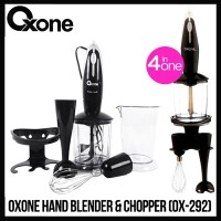 HAND BLENDER AND CHOPPER 4 IN 1 OXONE OX 292