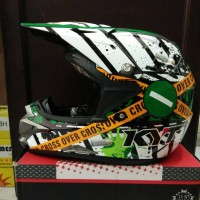 helm Kyt Cross Over verboden series Limited