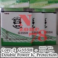 Baterai Samsung Galaxy Win I8552 Rakkipanda Double Power Protection