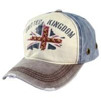 Topi Pria Ormano Baseball Snapback Cap UK - Biru Coklat