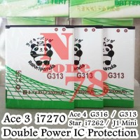 Baterai Samsung Galaxy V G313H Ace 3 Double IC Protection