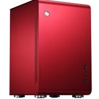 Jonsbo U2 Red Mini ITX Case | Aluminium Computer PC Tower Casing