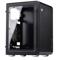 Jonsbo U2 Window Black Mini ITX Case | Aluminium Computer PC Casing