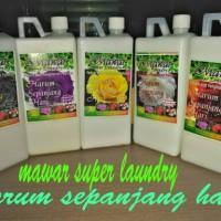 Pelicin Dan Pewangi Pakaian (Mawar Super Laundry)