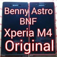 LCD + TouchScreen + Bezel, Sony Xperia M4 Aqua, E2303, E2312, Original