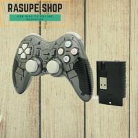 Jual Stick/Joystick/Gamepad Wireless 2.4G Untuk PS2 PS3 PC Windows Android Murah