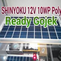 harga Panel surya solar cell SHINYOKU 12V 10Wp Polykristaline Tokopedia.com