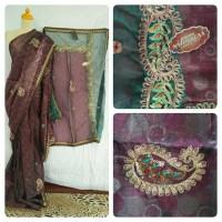 Jual Kain saree/ sari India murah elegant 1 Murah