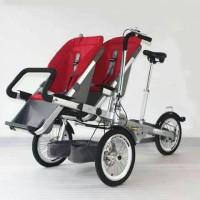 taga bike stroller sepeda 2 seat