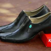harga Sepatu Kickers Malkist Series Man Leather Pantofel Black 39-43 Tokopedia.com