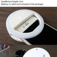 Jual Selfie Ring Light Lampu Selfie Untuk foto di handphone / laptop 3adjus Murah