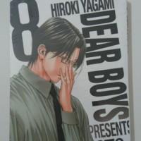 DEAR BOYS ACT 3 VOL 8 - HIROKI YAGAMI (KOMIK CABUTAN BARU/SEGEL)
