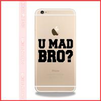 Jual Decal Iphone U Mad Bro Murah