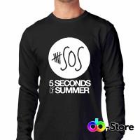T-shirt   Kaos 5sos, 5 seconds of Summer Logo