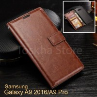 Samsung A9 2016 / A9 Pro Wallet Case Premium Leather