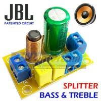Jual JBL Splitter Bass Treble 2 Way Crossover Audio Divider Speaker Filter Murah