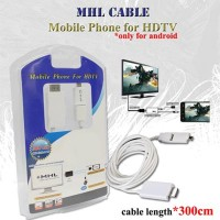 Jual Kabel MHL Universal Untuk Smartphone Connect Ke Smart TV / Projector Murah