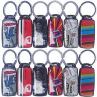 Paket 12 buah Gantungan Kunci Siul Key finder berMotif