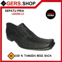 [ Promo ] Sepatu Pria Gers L5 Black