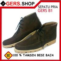 Sepatu Gers B1 Handmade Pria Formal Kantor Kerja Pesta Pantofel Boot