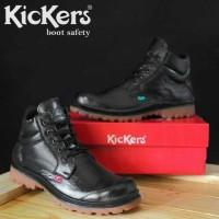 Sepatu Kickers Garuda Safety Boots Kulit Gagah Asli Pria