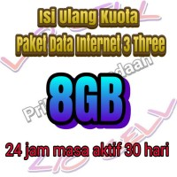 isi ulang kuota paket data internet 3 three murah