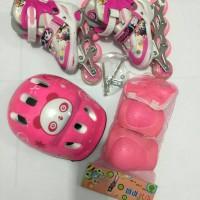 Jual Sepatu roda set + dekker + helm / inline skate anak Murah