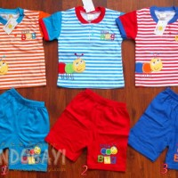 Setelan Coolabear Bee Garis 1-2th idr 39rb