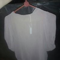 blouse wanita warna creme
