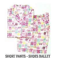 Jual Piyama Wanita - Shoes Balet Short Pants Pajamas Murah