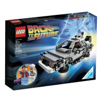 LEGO The DeLorean Time Machine Building Set 21103 (Discontinued by man