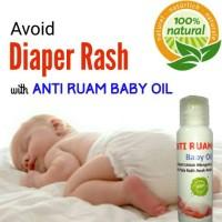 Anti Ruam Baby Oil - Aromatherapy utk Ruam Popok Iritasi Kulit Bayi